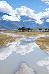Sunny day at Nubra Valley. India, Ladakh