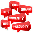 Speechbubbles Questions France Red