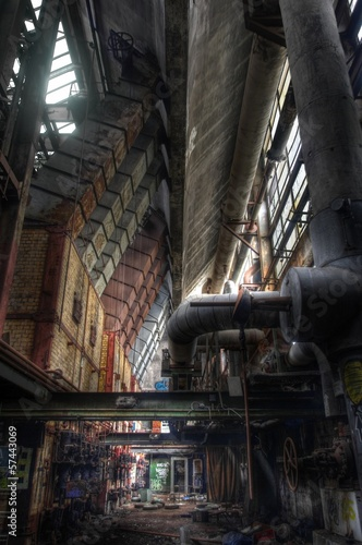 old abandoned furnaces