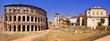 Il Teatro Marcello e la Chiesa di S. Rita, Roma