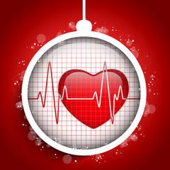 Merry Christmas Doctor Hospital Heart Ball