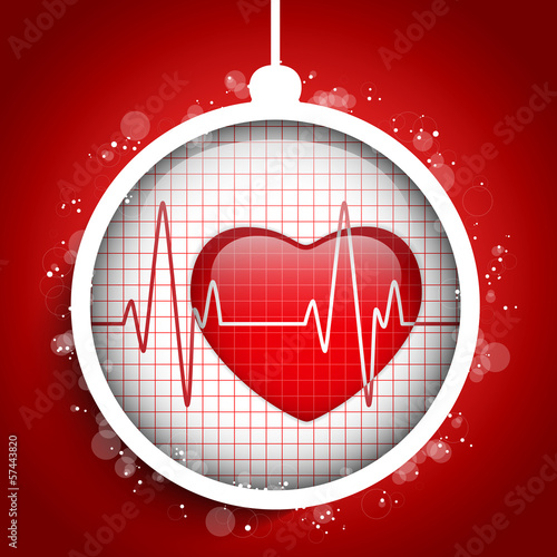 Merry Christmas Doctor Hospital Heart Ball
