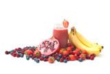 Berry smoothie detox poster