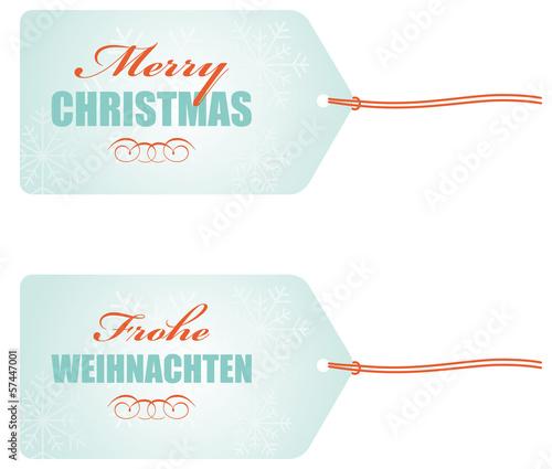 anhänger merry christmas frohe weihnachten