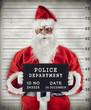 Santa Claus Mugshot