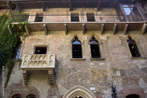 The house of Julia in Verona