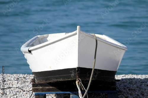 Poster barque traditionnelle,doris,normandie