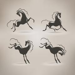Horse Vector format