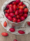 fresh rosehips