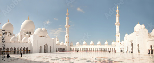 Abu Dhabi White Sheikh Zayed Mosque