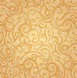 Pale ocher vintage background design