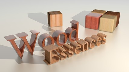 Wood essences