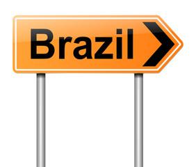 Brazil sign.
