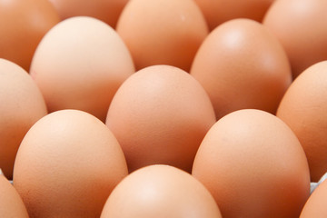 Eggs in a container