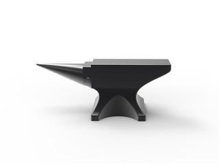 anvil black isolated