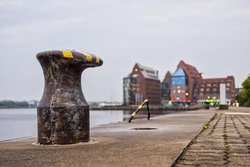 Der Stadthafen in Rostock.