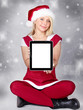 Voucher on tablet pc for christmas and pretty woman
