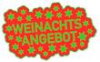 Weihnachten Angebot Sticker  #131021-svg03