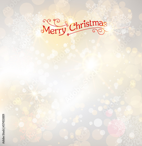 Light christmas background