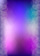 Abstract purple and blue vector background