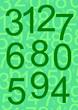 yeşil sayılar