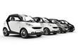 Small Cars Monochrome