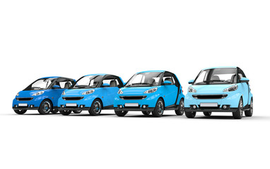 Blue Small Cars