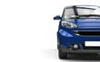 Dark Blue Small Car Cutaway