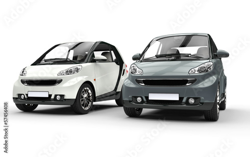 Metallic Small Cars