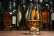 Leinwanddruck Bild - whisky tasting