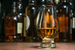 Leinwandbild Motiv whisky tasting