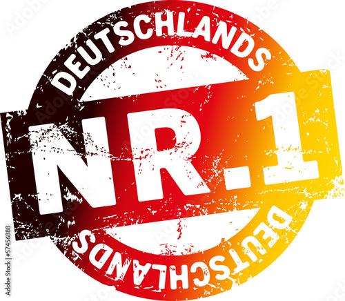 stempel deutschlands nummer 1