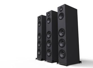 Speakers Side View