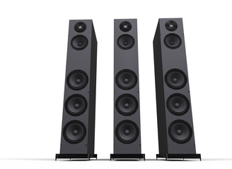 Tall Speakers
