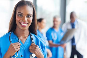 african medical nurse