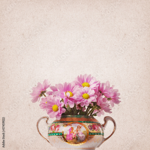 Vintage Flower Background