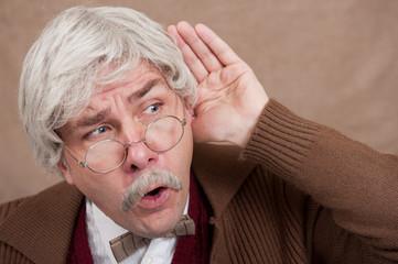 Old Man Overhears Gossip