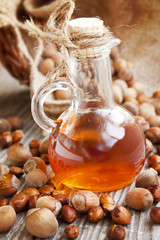 Hazelnut Oil Bottle