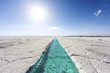 Water pool on Salinas Grandes Jujuy, Argentina. - 57465441