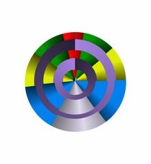 gioco di colori e luce