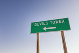 Devils Tower Sign