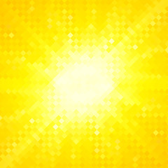 shiny yellow pixel background