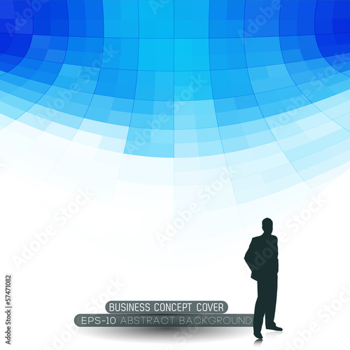 business concept abstract perspective background
