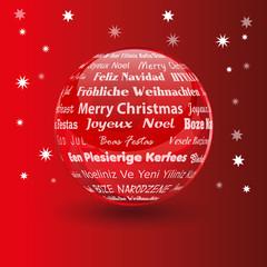 christmas sphere