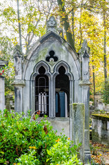 View of Pere Lachaise Cemetery