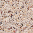 Cement with pebbles stones fragment