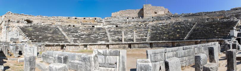 Panorama van het theater van Milete