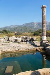 Opgraving van Klaros