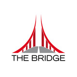 Vector Logo Red Bridge