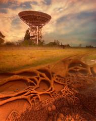 Universe Observatory on alien planet